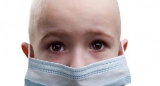 ילד חולה סרטן. אילוסטרציה