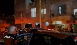 בני ברק: לכודים חולצו משריפה בתוך בניין