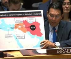 דנון חשף: כך איראן מבריחה ציוד לתוך לבנון
