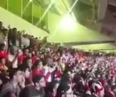 קריאות הגעגוע-מחאה באיצטדיון באיראן - התיעוד שעשוי להשפיע אם תהיה מלחמה