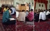 בלעדי: אמירת הקינות בבית הכנסת   באיראן
