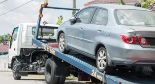 אילוסטרציה - ניסו לגנוב רכב באמצעות גרר ונעצרו
