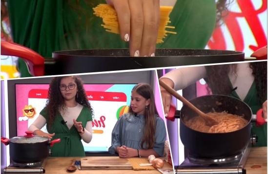 ילדים לומדים לבשל: בואו להכין פסטה • צפו