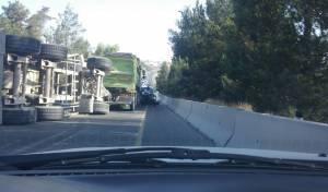המשאית ההפוכה, הבוקר