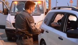 """צפו: 129 שב""""חים פלסטינים נעצרו בישראל"""