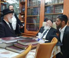 הרב יונה מצגר ביקר אצל נשיא המועצת