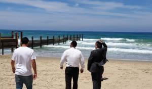 מעקב 'כיכר': החוף הנפרד בחדרה - נפתח