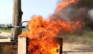 הקובייה חונקת את האש - קובייה עשויה להפחית את הסיכון שבמדורות