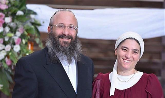"""חווה מרק עם בעלה הרב מיכאל הי""""ד"""