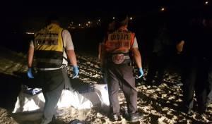 גופת גבר בן 60 נמשתה לחוף באשקלון