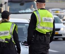 שוטרי תנועה. אילוסטרציה - המשטרה עצרה ראש עיר: נהג ללא רישיון