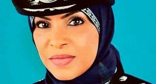 בינת עאשור אל-חמבסיה. המפקדת - אישה תפקד על תחנת משטרה בעיר הבירה