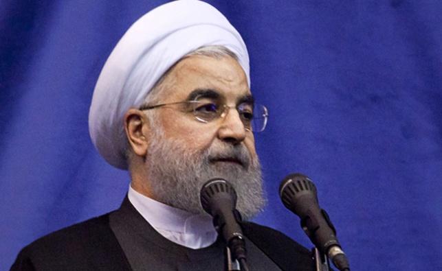המנהיג האיראני רוחאני