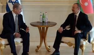 נתניהו עם נשיא אזרבייג'אן