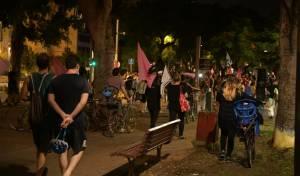 בניגוד להנחיות: הפגנה המונית בתל אביב