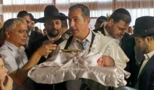 צפו: שמחת הברית לבנו של ר' רפי אילוז