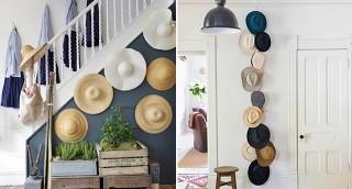 לא רק על הראש: איך לעצב את הבית עם כובעים