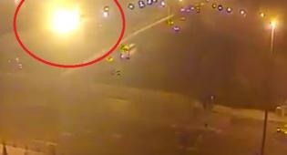 כדור אש בכביש: רגע הפיצוץ בנתיבי איילון