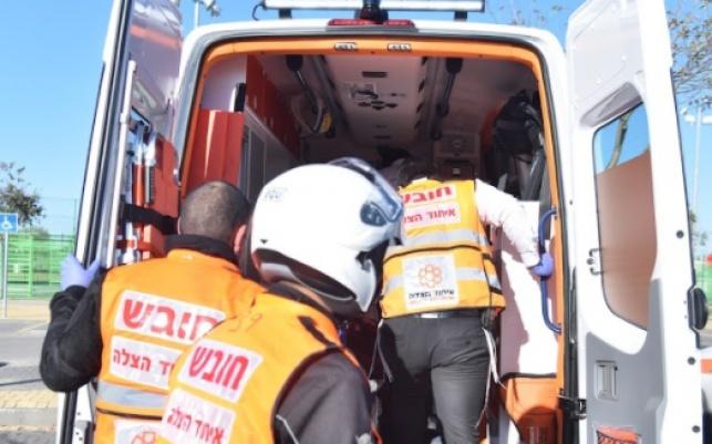 בן 7 נפצע באורח בינוני בתאונה בבר אילן