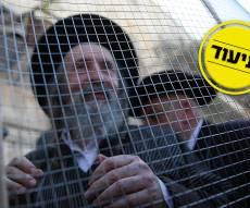 זקני ירושלים צעדו בתוך כלובי ברזל; הצעירים חסמו כבישים