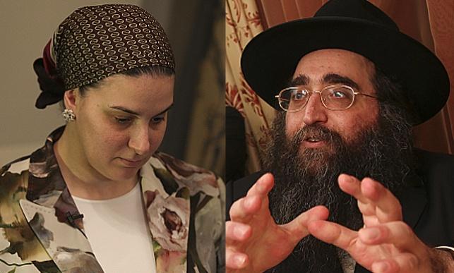 הרב יאשיהו פינטו ורעייתו הרבנית דבורה
