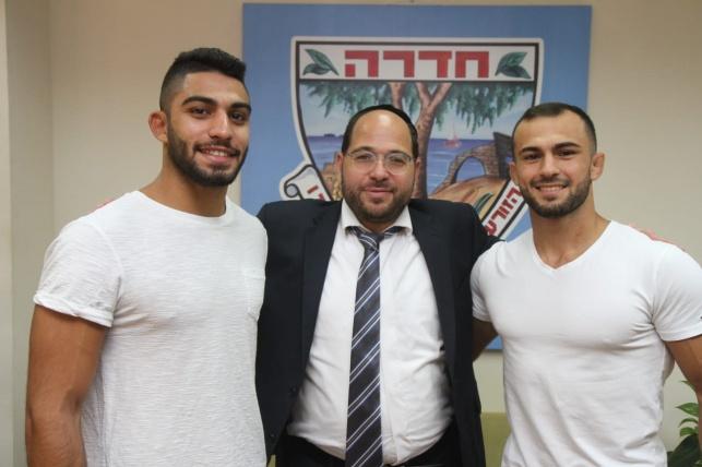ברוך שמאילוב וטוהר בוטבול ערב היציאה לייצוג ישראל באולימפיאדה