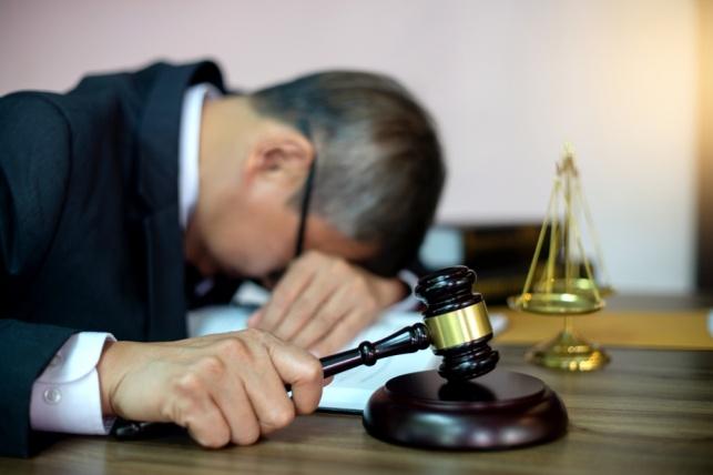 נציב התלונות דחה תלונה על שופט שנרדם