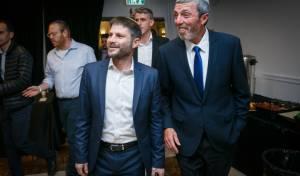 חברי הכנסת רפי פרץ ובצלאל סמוטריץ'