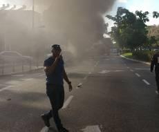 זירת הפיצוץ - פצוע קשה בניסיון חיסול שהרעיד את חיפה