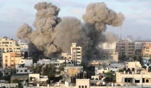בניין התקשורת שהופצץ