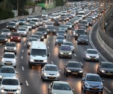 פקק תנועה - 69% מהישראלים מגיעים עם רכב לעבודה