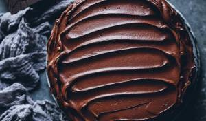 שוקולד חם בחורף קר