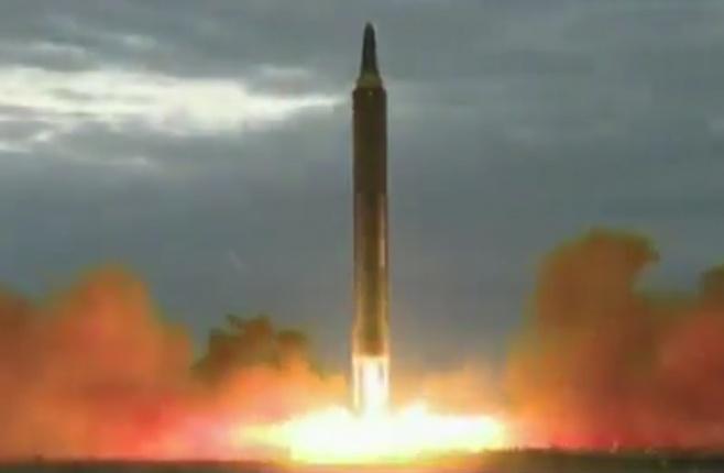 כך שוגר הטיל האימתני שעבר מעל יפן • צפו
