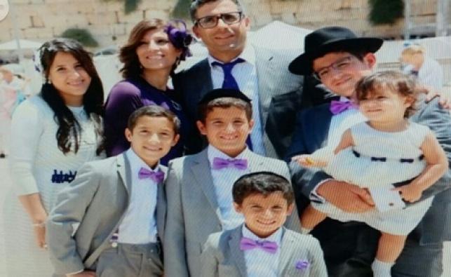 משפחת אזן לפני האסון הנורא