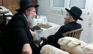 הגאון רבי ברוך סולובייצ'יק עם מרן הרב שטיינמן - חילוקי דעות על משמעות הסטטוס קוו