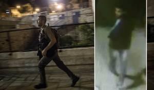 המחבל כפיש תועד במצלמות האבטחה וסריקות המשטרה - בסמטאות העיר העתיקה: נלכד המחבל מפיגוע הדקירה