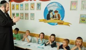 ראש העיר עם הילדים