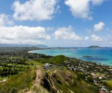 הבסיס בהוואי שבו משרת פאלמר