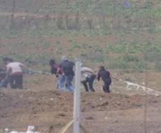 צפו: כך ניסו פלסטינים לחדור לשטח ישראל