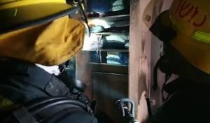 פעוט נפצע בינוני בשריפה בדירת מגורים