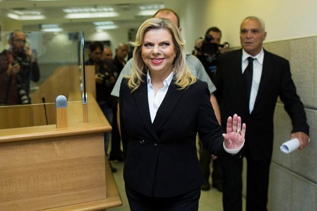 שרה נתניהו מגיעה לדיון בבית המשפט