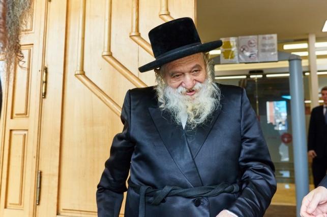 הרבי מטשערנוביל ביקר אצל רבה של רוסיה