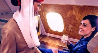 """אמירייטס. חברת התעופה הטובה בעולם - חברת התעופה שמחלקת """"פיג'מות מונעות יובש"""""""