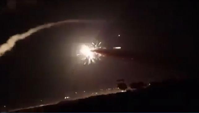פעילות מערכות ההגנה הסוריות. ארכיון