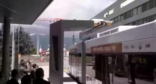 """אוטובוס """"ירוק"""" ייטען בכל תחנה בחשמל"""