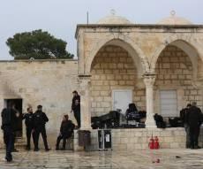 הר הבית: 10 נעצרו; חמאס קורא להתנגדות