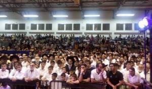 אלף איש חגגו בשמחת בית השואבה בתל אביב