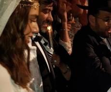 טקס החופה - יהודה לוי ושלומית מלכה נישאו כדת משה וישראל