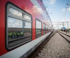 """תתכוננו לפקקים: ברכבת יסגרו בעוד שבוע את אחת משלוש המסילות שעוברת לאורך ת""""א"""
