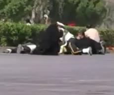 תיעוד: רגעים ראשונים של הפיגוע באיראן